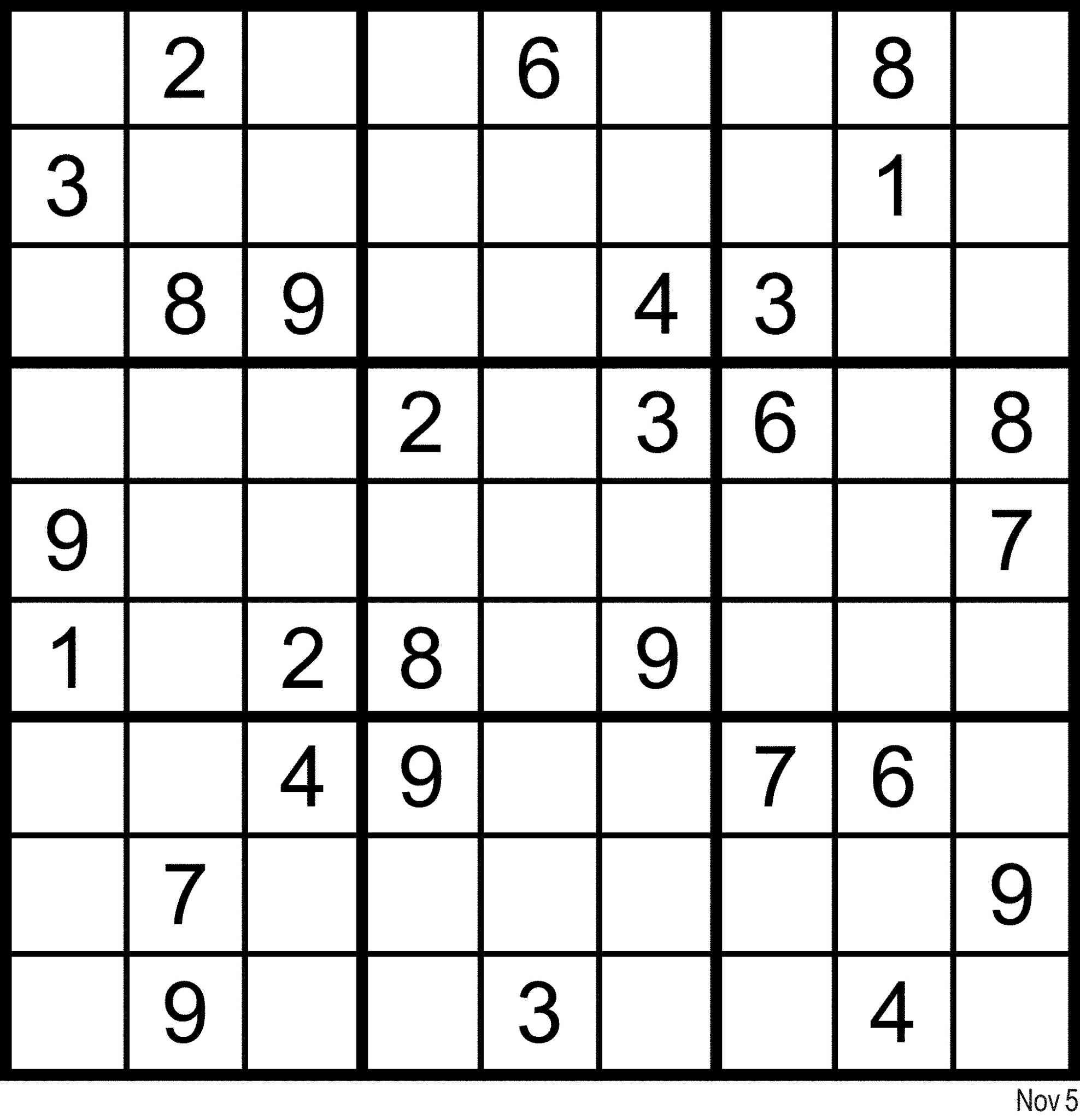 Sudoku en ligne comment trouver son bonheur sur internet - Grilles de sudoku vierges ...