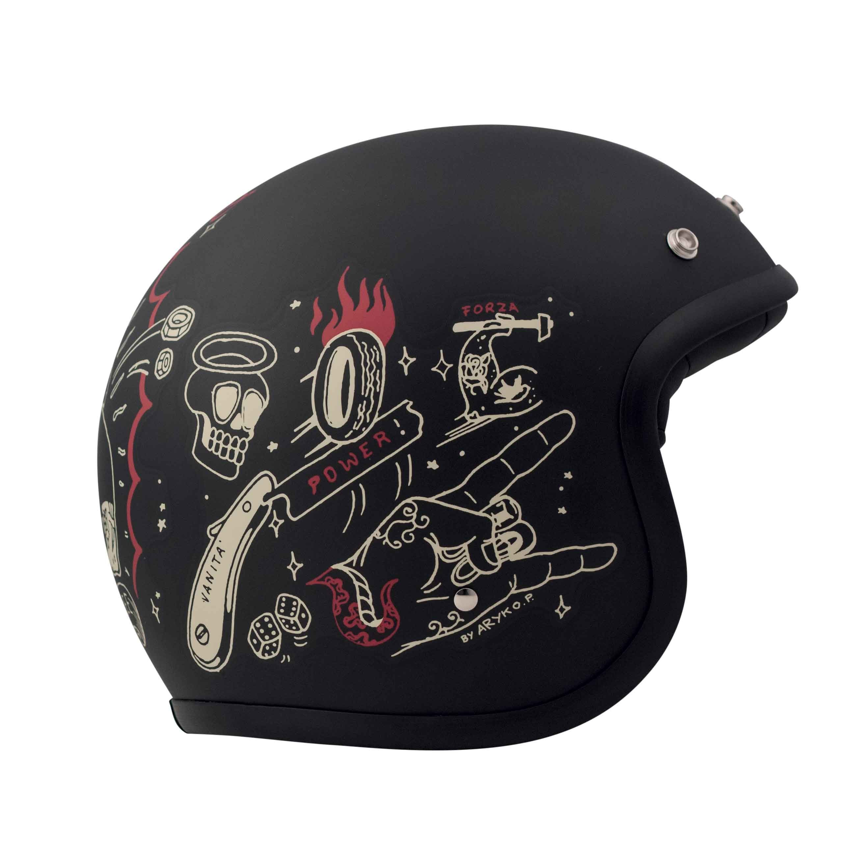 Où acheter un casque de moto vintage?